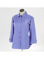 Ladies Poplin Easy Care Blouse