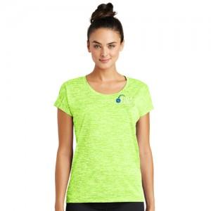 Ladies Electric Lime Sport Tee